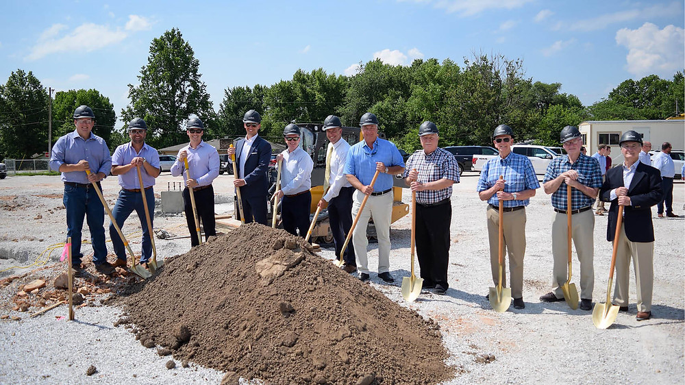 Legacy Bank and Trust Springfield Ground Breaking