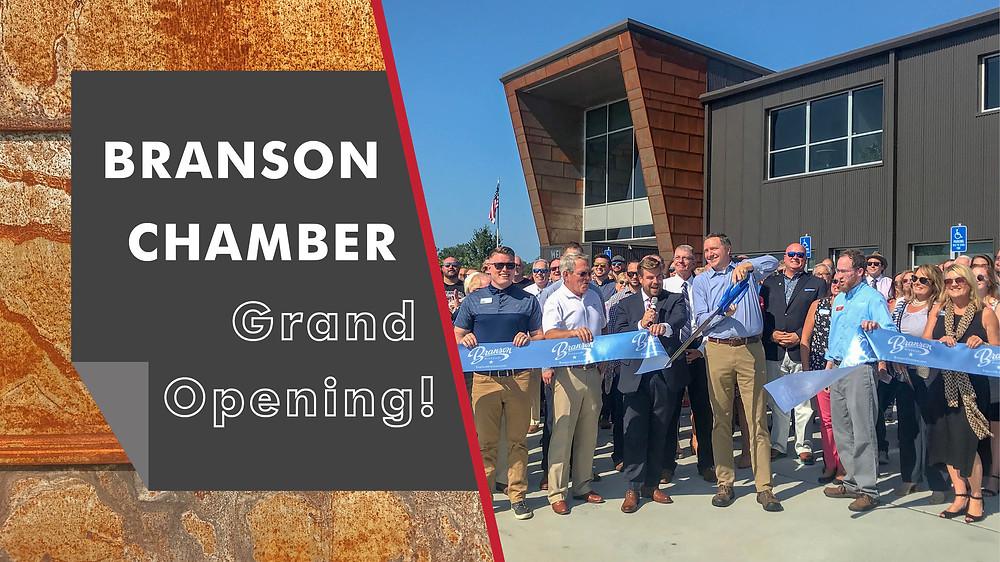 Branson Chamber Grand Opening
