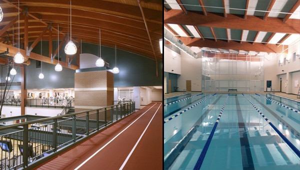 The Meyer Center - Running Track and Pool