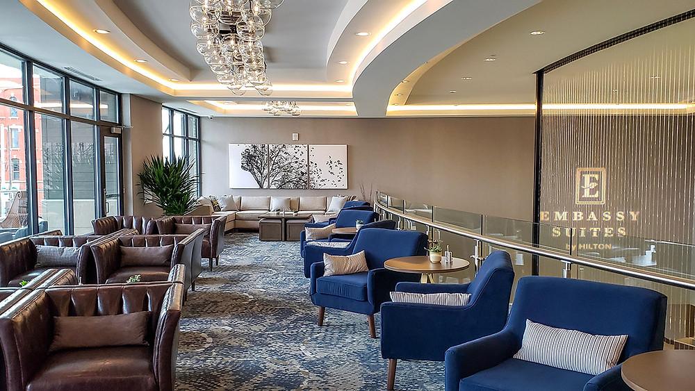 Upstairs Lounge area