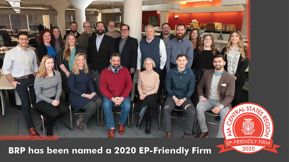 BRP Architects has been named a 2020 EP-Friendly Firm