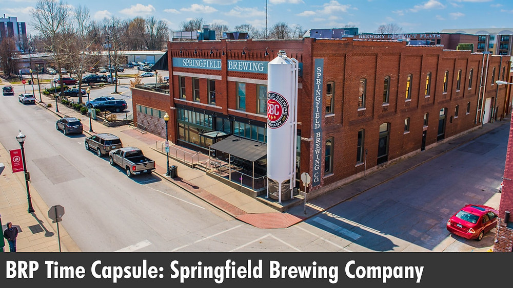 BRP Time Capsule: Springfield Brewing Company