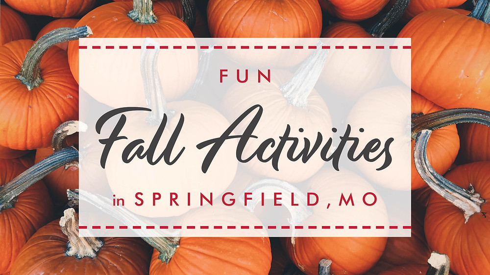 Fun Fall Activities in Springfield, MO