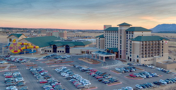 Great Wolf Lodge Aerial