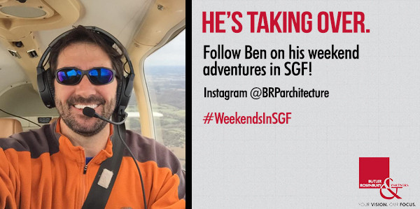 He's Taking Over: Follow Ben on his weekend adventures in SGF