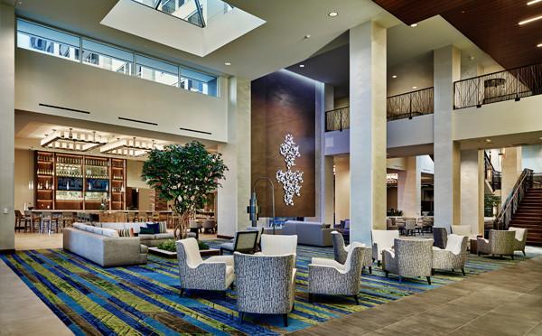 Embassy Suites Denton Lobby