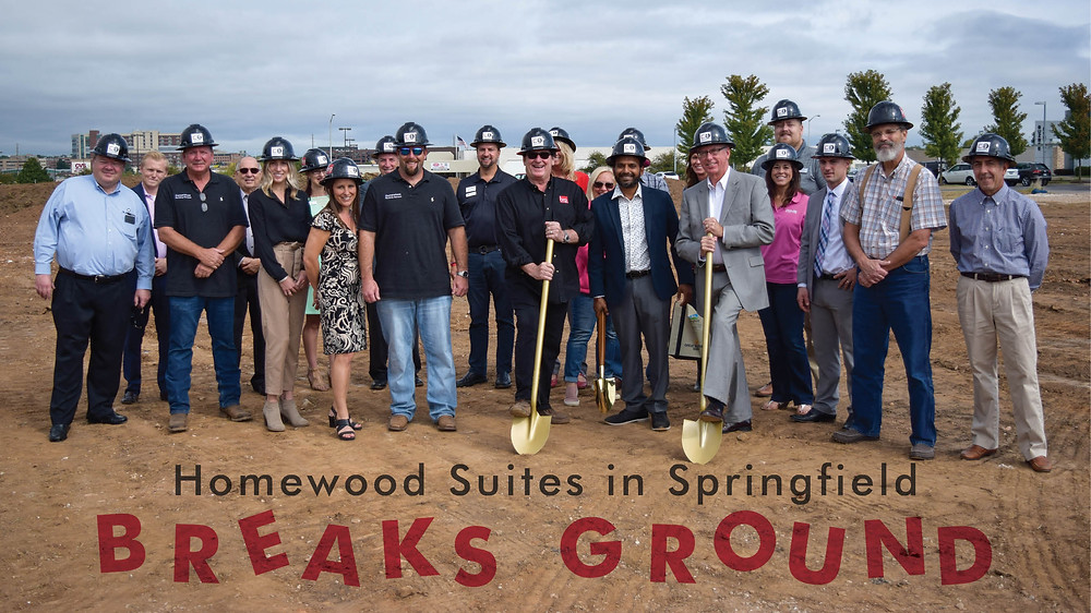 Homewood Suites in Springfield Breaks Ground