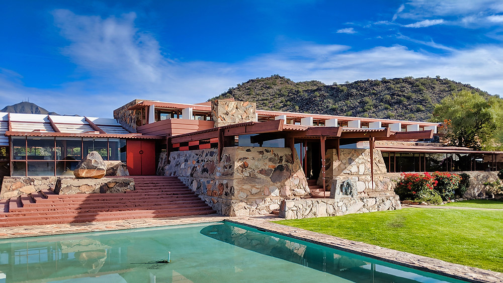 Frank Lloyd Wright Taliesin West, Scottsdale, Arizona