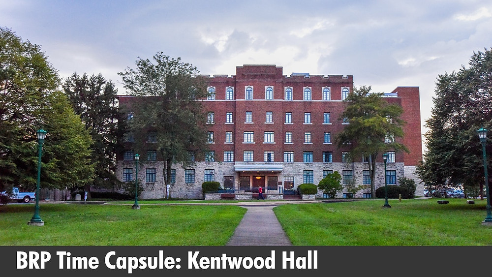 BRP Time Capsule: Kentwood Hall