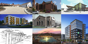 BR&P Projects in design and construction in 2016