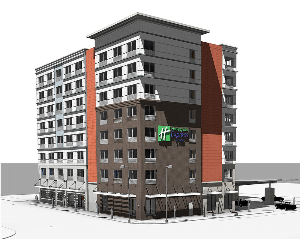 Holiday Inn Express & Suites – Louisville, KY rendering