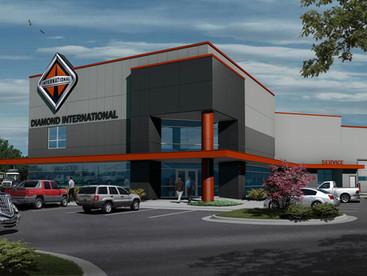 Diamond International New & Used Truck Sales Facility