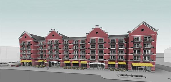 Courtyard by Marriott - Holland, Michigan BR&P design