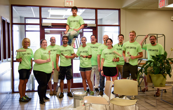 BRP team United Way Day of Caring