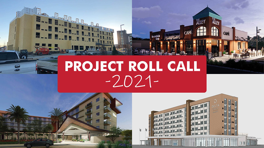 BRP Architects Project Roll Call 2021