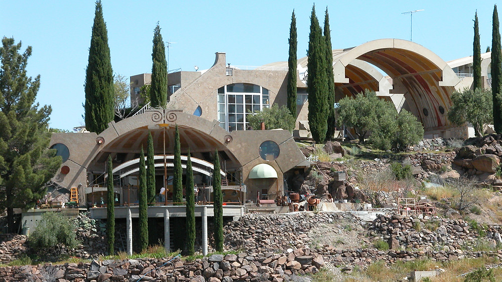 Paolo Soleri's ArcoSanti in Arizona
