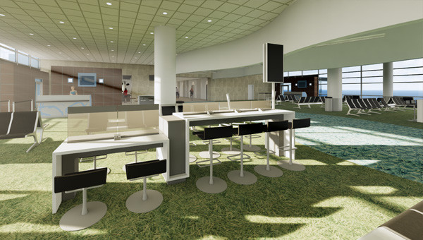 Springfield-Branson National Airport - Charging Tables