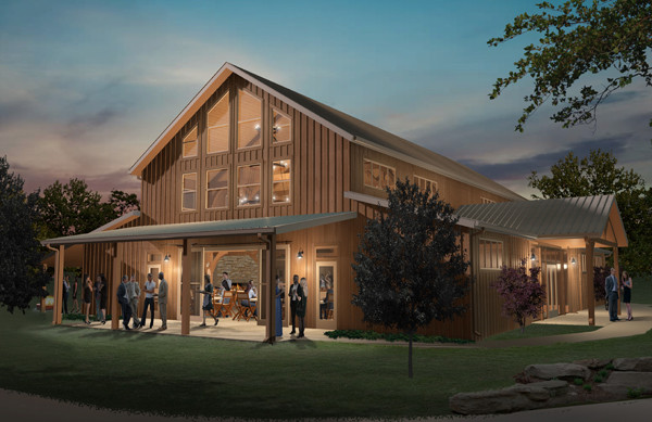 Event Barn at the Marriott Hotel & Golf Club at Champions Circle in Ft. Worth, TX (Project Roll Call 2019)
