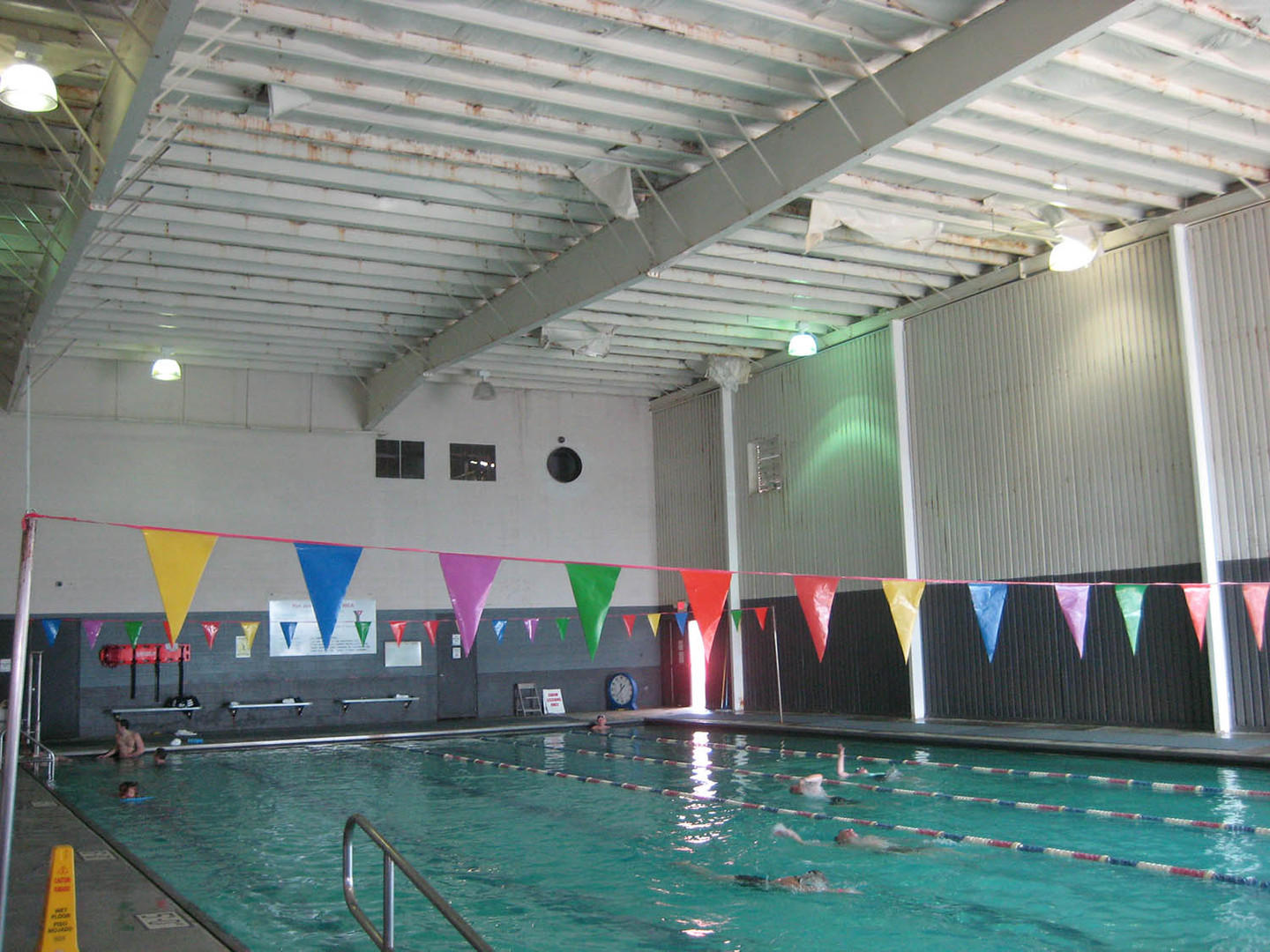 Jones YMCA Pool Renovation, Before