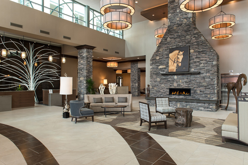 Saratoga Springs Embassy Suites Lobby
