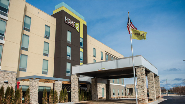 Home2 Suites - Entrance
