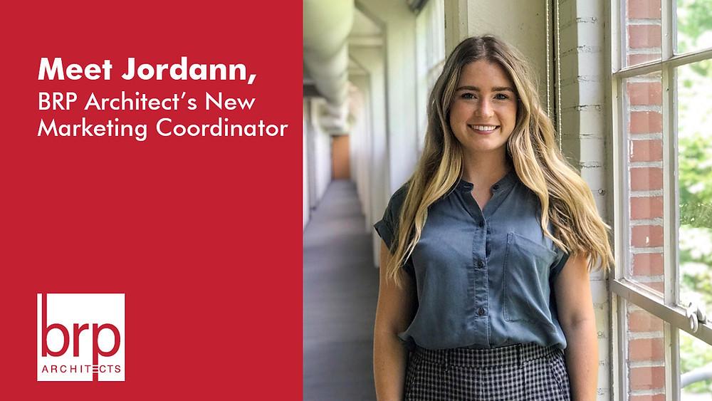 Meet Jordann, BRP Architect's New Marketing Coordinator