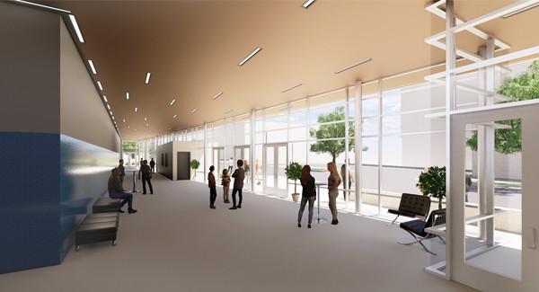 Greenwood Lab School: Gym Lobby