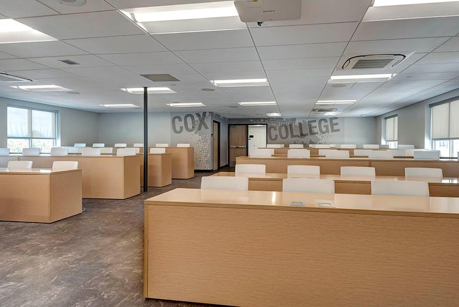 Cox College Renovation