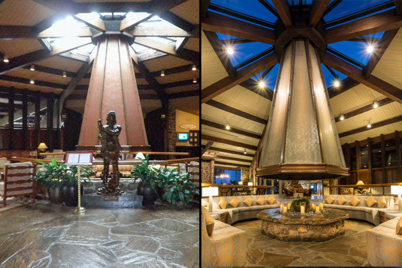 Renovation of the Lodge of Four Seasons