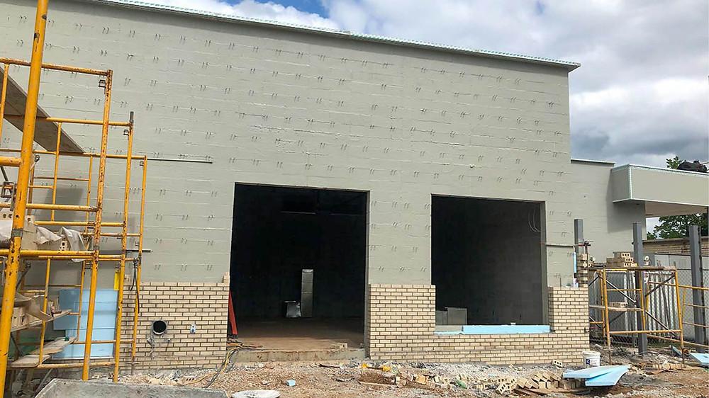 Greenwood Multipurpose Addition Construction Update