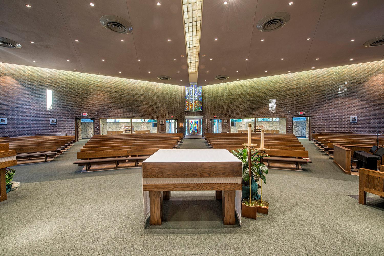 Holy Trinity Catholic Church Renovation & Parish Hall Addition