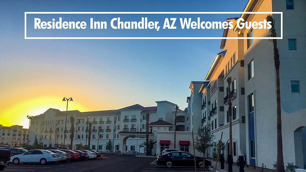 Residence Inn Chandler, AZ Welcomes Guests