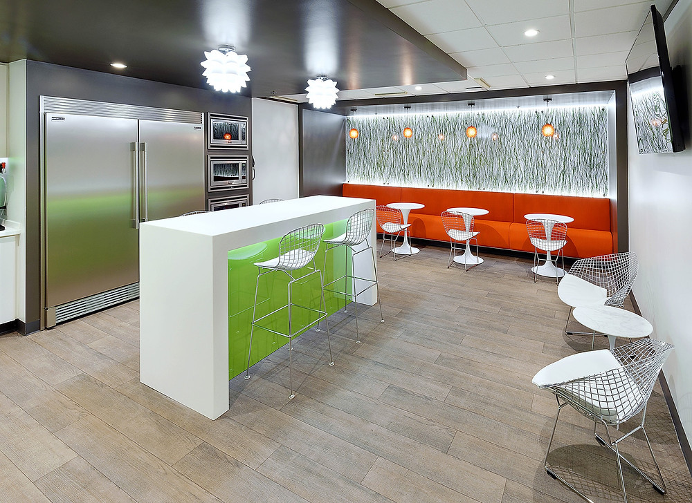 HuschBlackwell Breakroom - Springfield, MO, Office Design