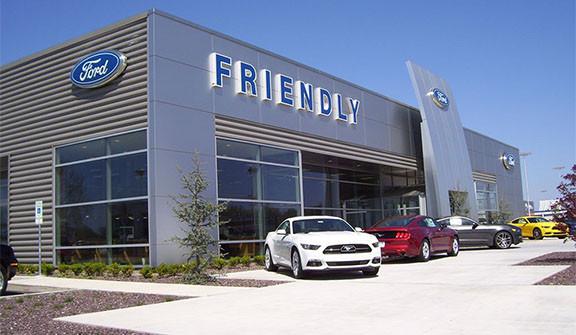 Friendly Ford Car Dealership