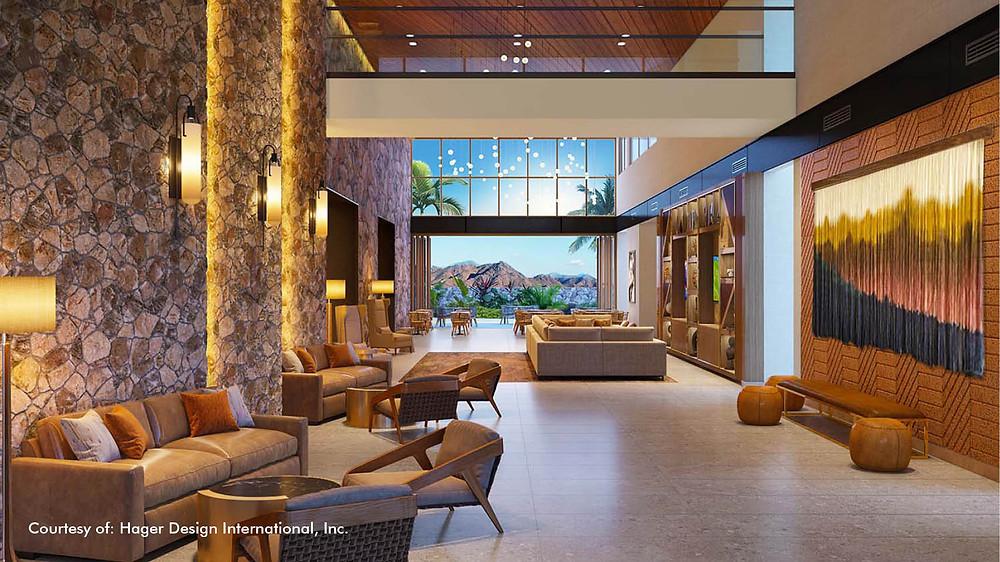 Hilton North Scottsdale at Cavasson Hager Design International rendering