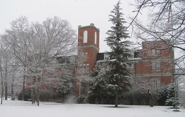 Hogue Hall Winter