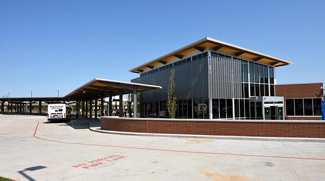 Bus Transit Center Solar Veil