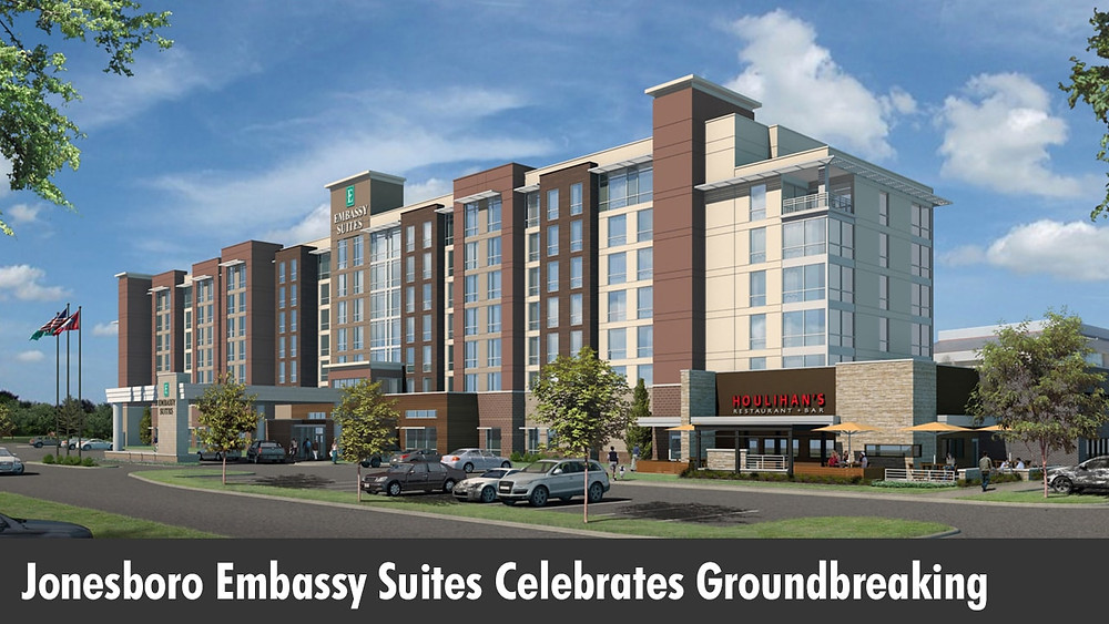 Jonesboro Embassy Suites Celebrates Groundbreaking