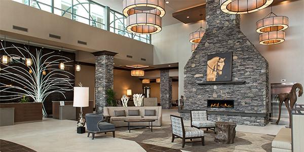 Saratoga Springs Hotel Lobby - Embassy Suites Saratoga Springs, NY