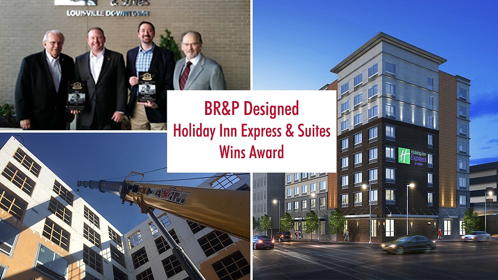 BR&P Designed Holiday Inn Express & Suites Wins Award