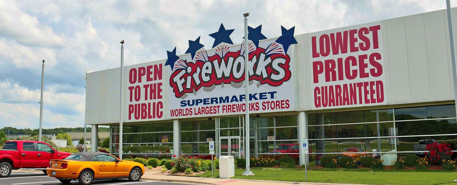 Fireworks Over America