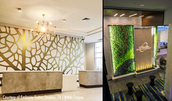 Embassy Suites Hotel & Convention Center - Natural Features