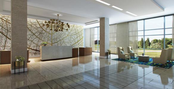 Embassy Suites Hotel & Convention Center - Denton, TX Art Installation
