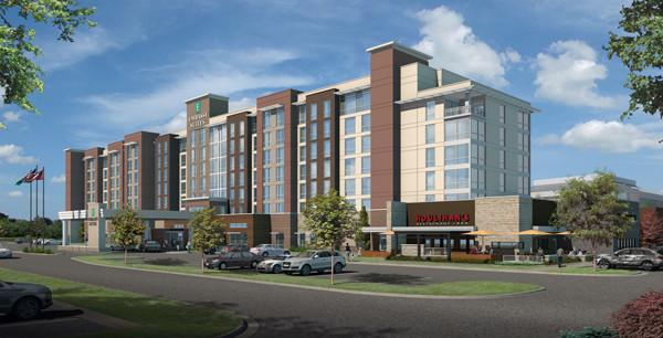 Embassy Suites Hotel & Red Wolf Convention Center - Jonesboro, AR