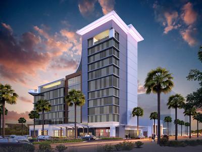 Caesars Republic Scottsdale Hotel rendering