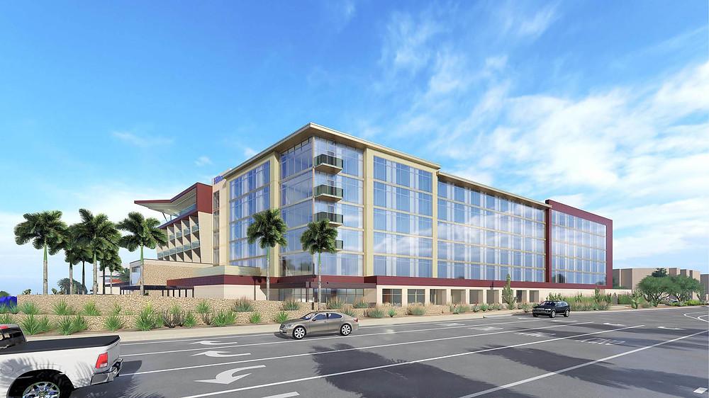 Hilton North Scottsdale at Cavasson BRP Architects rendering