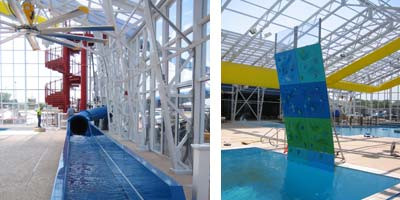 Bolivar Aqua Zone Pool features