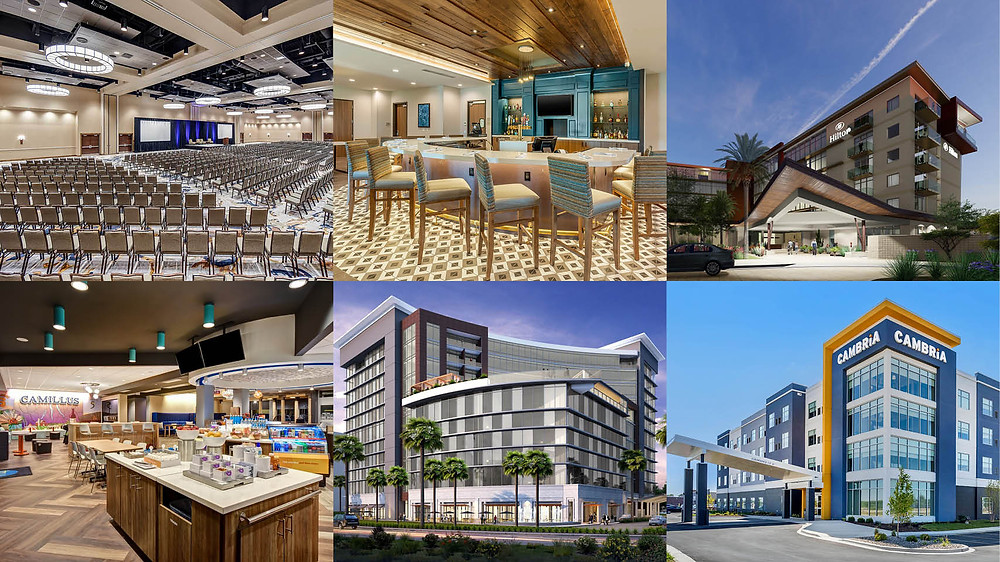 BRP Architects hospitality portfolio
