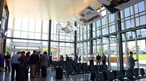 Bus Transit Center Interior