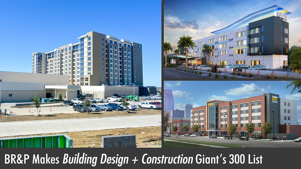 BR&P Makes Building Design + Construction Giant's 300 List
